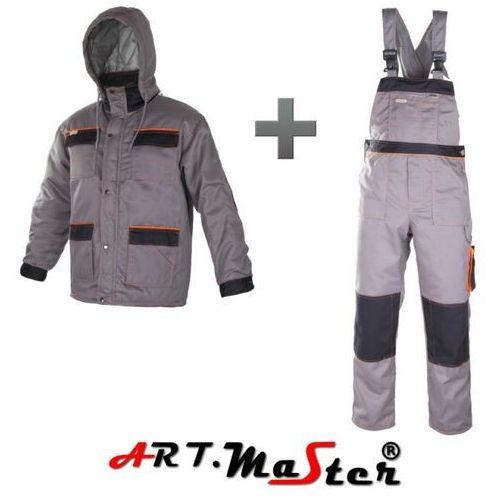 ART.MASTER KPL LONG Grey/Black OCIEPLANE UBRANIE 176/106-110/120