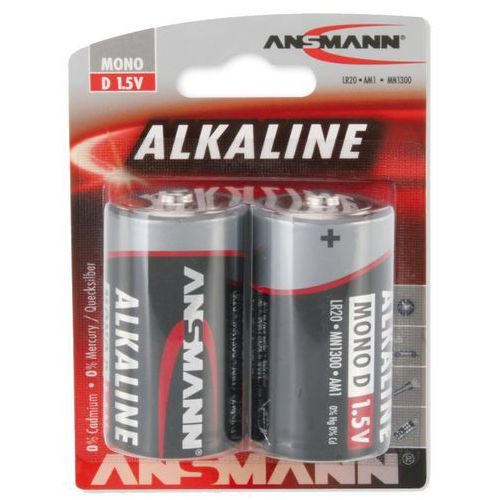 Bateria ANSMANN Red LR20/Mono D (2 szt.) (4013674007493)