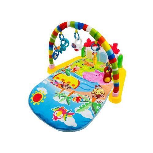Interaktywna mata edukacyjna z zabawkami + pianino 525-003 marki Ibaby