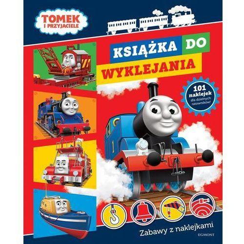 Tomek i przyjaciele Książka do wyklejania, praca zbiorowa