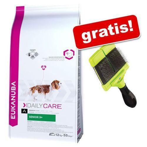 Duże opakowanie Eukanuba Daily Care + Oryginalny FURminator Szczotka Slicker gratis! - Sensitive Skin, 12 kg, PEUK009