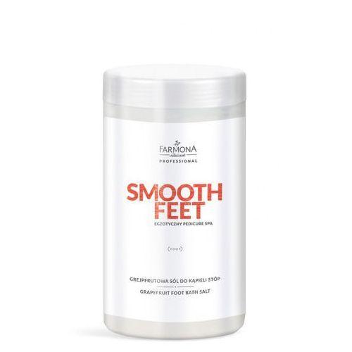 Farmona professional Smooth feet, grejpfrutowa sól do kapieli stóp 1500g