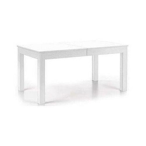 Minimalistyczny rozkładany stół Daniels - biały