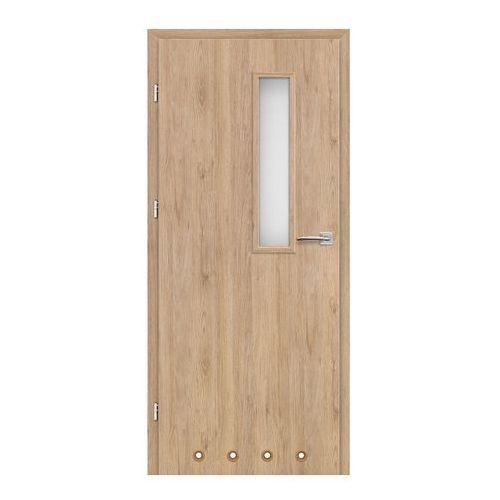 Drzwi z tulejami Exmoor 60 lewe dąb skalny