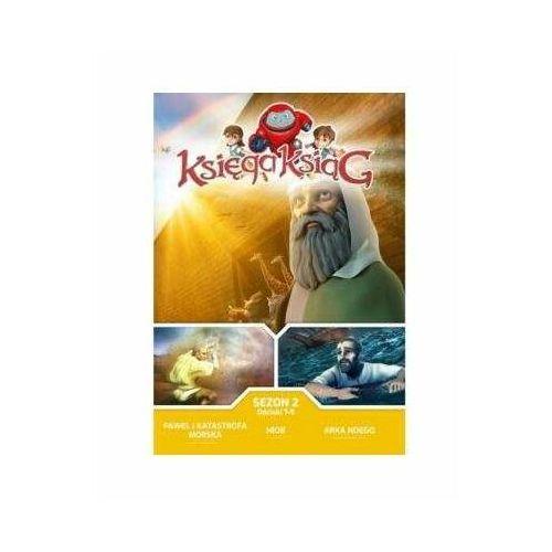 Praca zbiorowa Księga ksiąg - sezon 2 - odcinki 7-9 dvd (5903856992640)