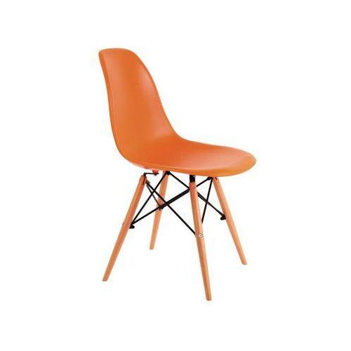 Krzesło enzo pomarańczowy marki Signal meble
