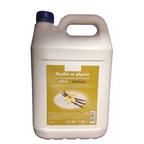 Agrobud Nawilżające mydło w pianie mleko&wanilia 5l