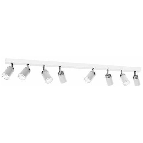 Luminex reno 5141 listwa plafon lampa sufitowa spot 8x8w gu10 biały chrom