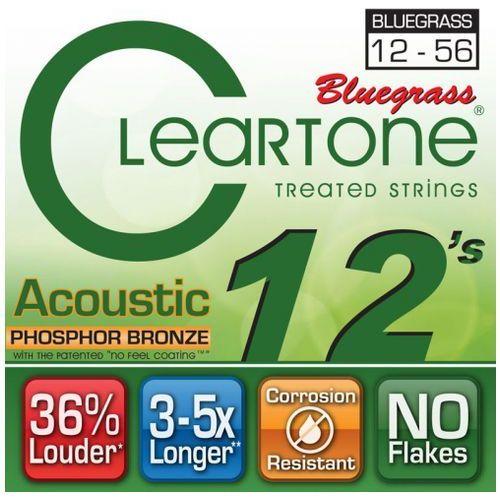 struny do gitary akustycznej 12-56 bluegrass marki Cleartone