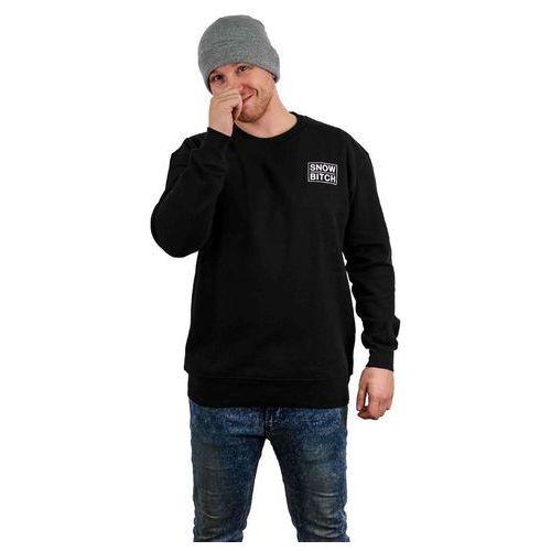 Bluza - o.g. mini crew black (black) rozmiar: xxl marki Snowbitch