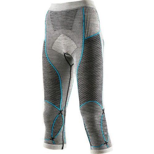 X bionic fastflow lady medium kalesony black/grey/turquoise marki X-bionic