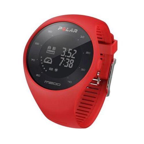 Polar Zegarek sportowy gps  electro m200 hrm czerwony (0725882034355)