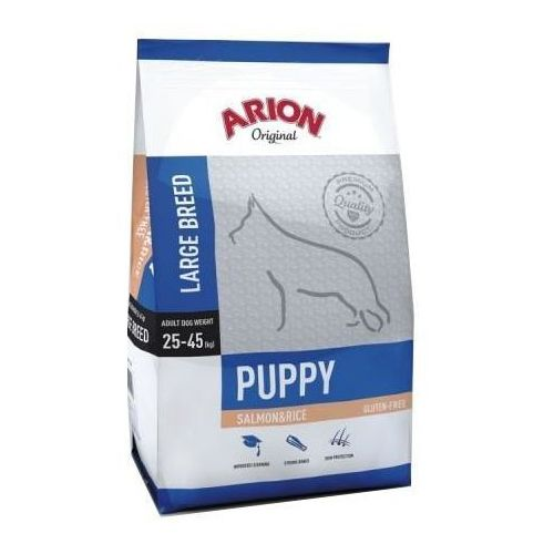 original puppy large salmon & rice 12 kg marki Arion