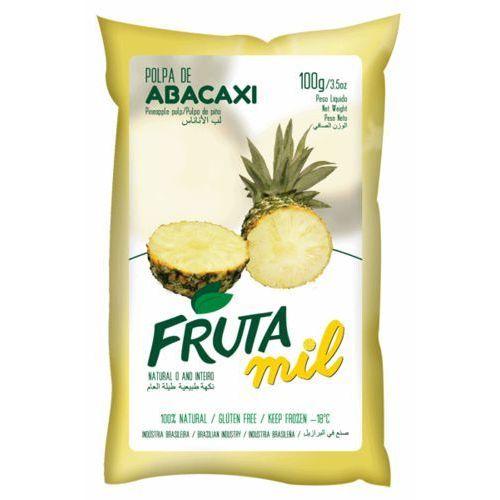 Ananas puree owocowe (miąższ, pulpa, sok z miąższem) bez cukru 2 kg marki Frutamil comércio de frutas e sucos ltda