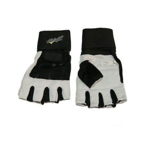 Rękawice kulturystyczne skórzane marki Allright