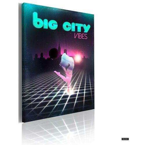 Selsey big city vibes canvas print 50x70 cm (5902622549477)