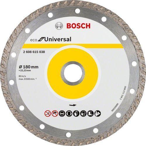 Tarcza diamentowa BOSCH ECO Turbo 180x22,23mm 10szt. (2608615047) + DARMOWY TRANSPORT! (3165140857246)