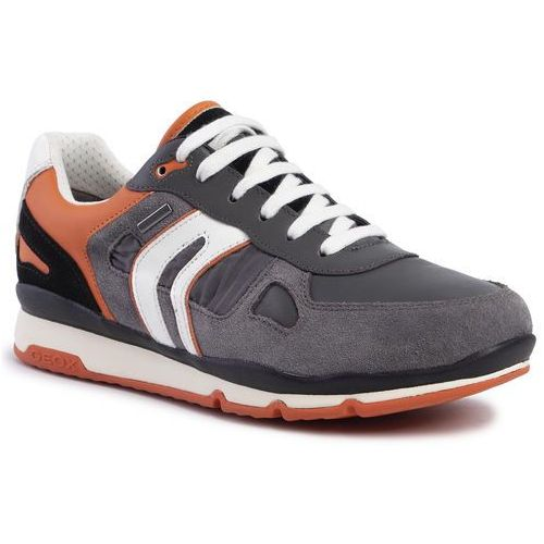 Sneakersy - u sandford b abx a u92s7a 022fu c0036 grey/orange marki Geox