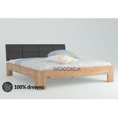 Łóżko dębowe vernalis 04 160x200 marki Woodica