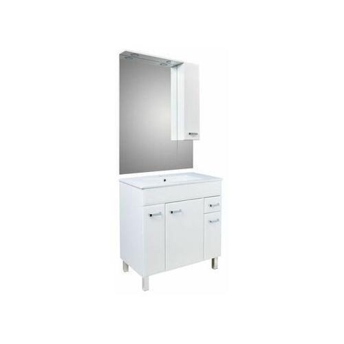 Zestaw szafka z umywalką i lustrem STORM 80 SENSEA (5906365402433)