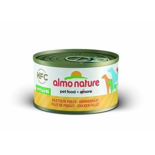 Almo Nature HFC Natural filet z kurczaka dla psa 6x95g