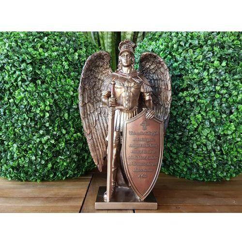 Archanioł z tarczą i mieczem (wu76407a4) marki Veronese