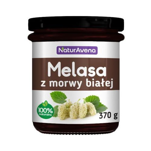 Naturavena 370g melasa z morwy białej - OKAZJE