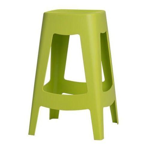 Stołek barowy Tower - zielony, 65326