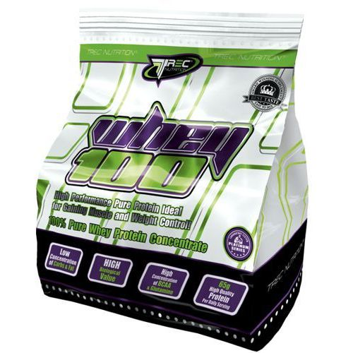 Trec nutrition Trec whey 100 - 900g - truskawkowy (5901828348167)