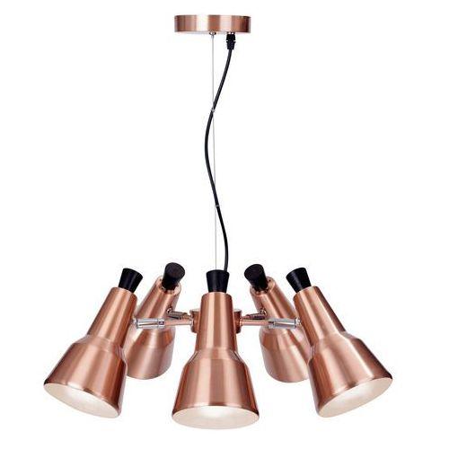 Lampa wisząca auletta 5 lp-507/5p miedziany + darmowy transport! marki Light prestige