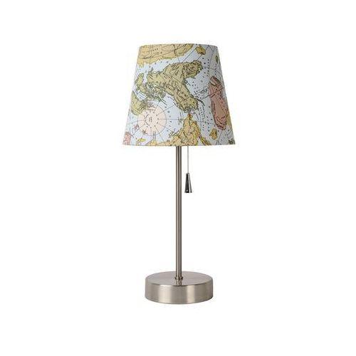 Lucide YOKO lampa stołowa Nikiel matowy, 1-punktowy - Klasyczny - Obszar wewnętrzny - YOKO - Czas dostawy: od 4-8 dni roboczych