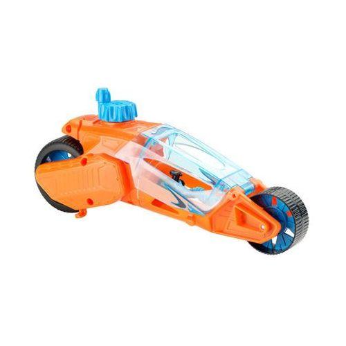 HOT WHEELS DPB68 Twisted Cycle Pomarańczowy motocykl nakręcany 4+
