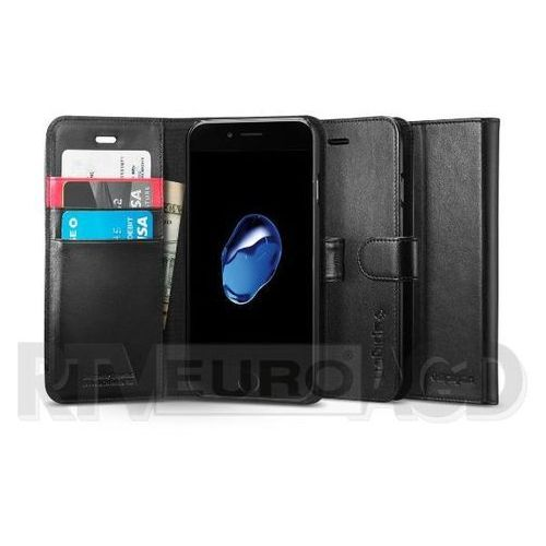 Spigen Wallet S 042CS20545 iPhone 7 (czarny) - produkt z kategorii- Futerały i pokrowce do telefonów