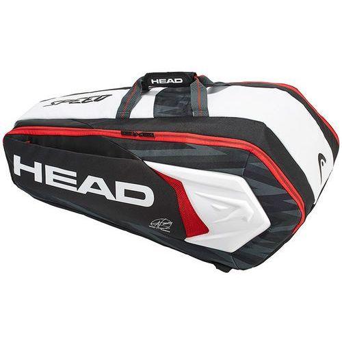 Head Djokovic 9R Supercombi Black White
