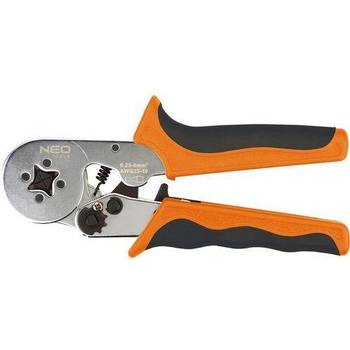 Topex Zaciskarka końcówek tulejkowych 170 mm, średnica tulejek o 2 - 3.2 mm, 4 szczęki,