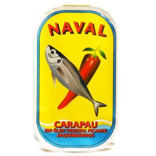 """Nero Portugalskie ostroboki """"jaquinzinhos"""" w oleju roślinnym pikantne naval 125g"""
