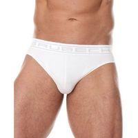 Bezszwowe slipy męskie Brubeck Comfort Cotton BE00290 biały