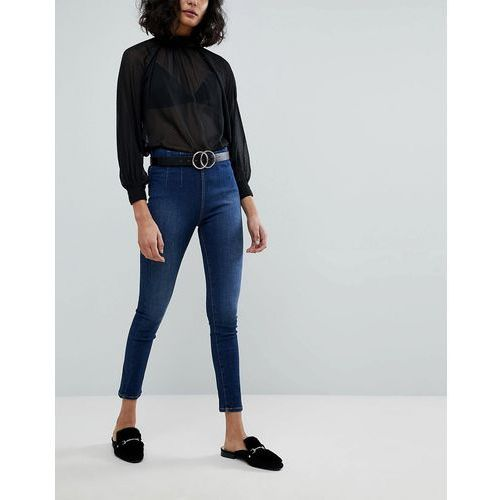 Free People Ultra High Pull On Skinny Jeans - Blue, skinny