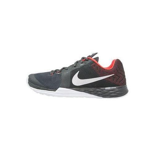Nike Performance TRAIN PRIME IRON DF Obuwie treningowe anthracite/metallic silver/max orange/white, 832219