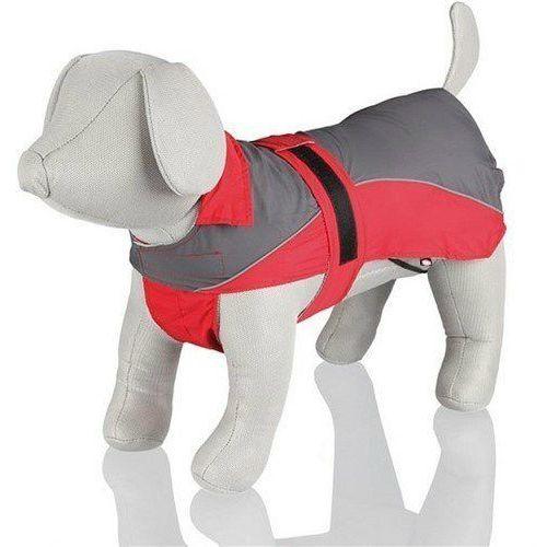 Trixie lorient'. rain coat. m. 45 cm. red/grey - darmowa dostawa od 95 zł! (4047974302743)