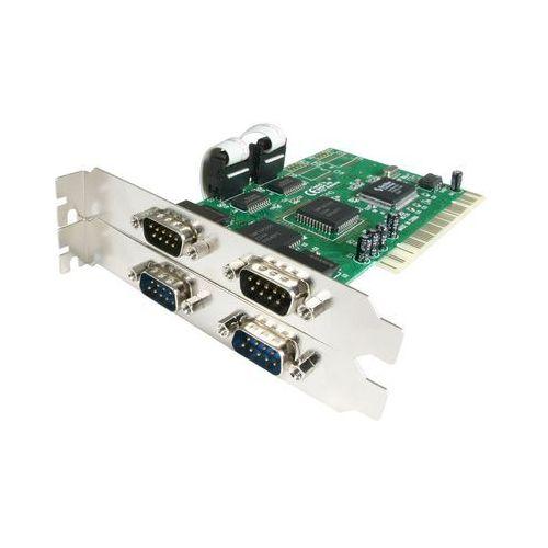 StarTech. com 2 port RS232 PCI Schnittstellenkarte o efektywnej rozdzielczości 16550 Serial UART