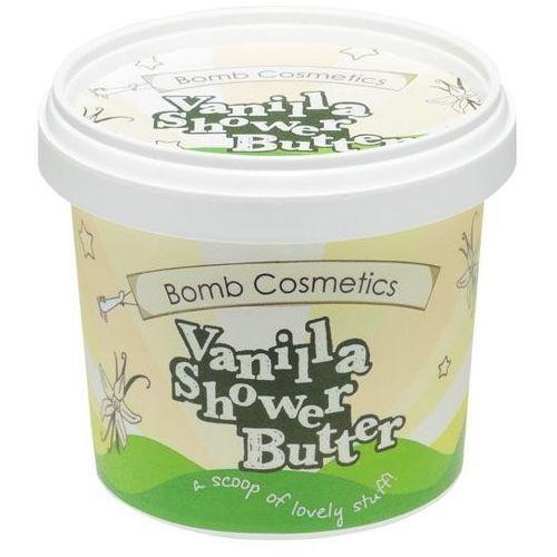 chilla vanilla - myjące masło pod prysznic 365ml marki Bomb cosmetics