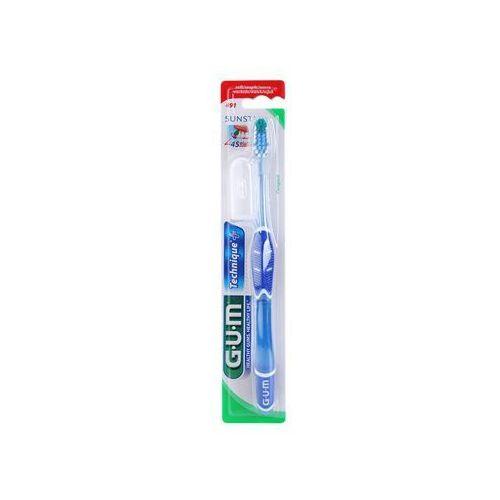 G.U.M Technique+ Compact szczoteczka do zębów z krótką główką soft + do każdego zamówienia upominek.