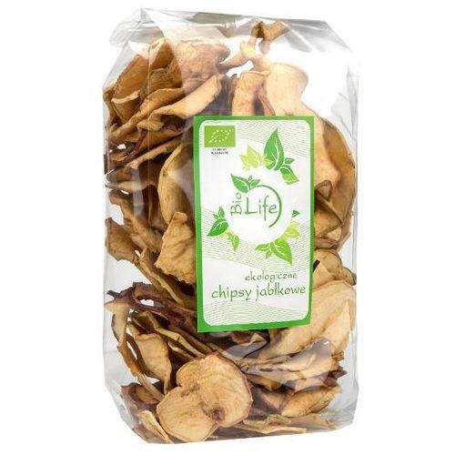 100g chipsy jabłkowe bio | darmowa dostawa od 150 zł! od producenta Biolife
