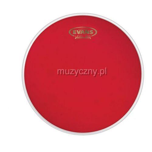 Evans TT13HR Hydraulic Red naciąg perkusyjny 13″, olejowy