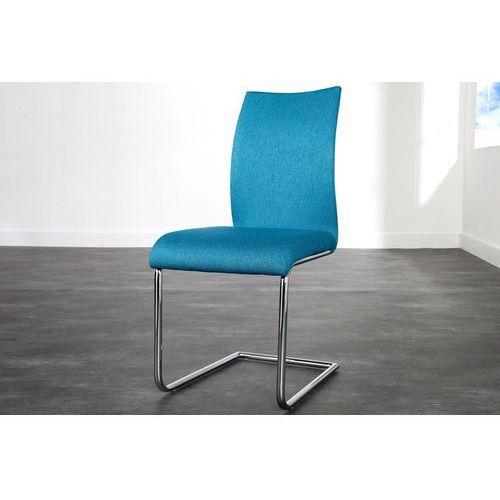 Krzesło Porto petrol - niebieskie