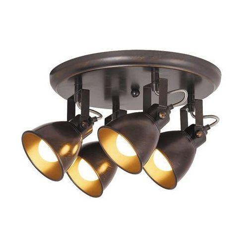 Plafon lampa sufitowa spot Rabalux Vivienne 4x40W E14 antyczny brąz 5965, 5965