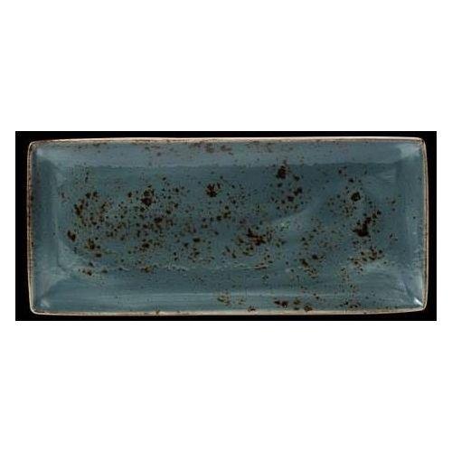 Steelite Półmisek z porcelany prostokątny craft niebieski 270 mm 11300550