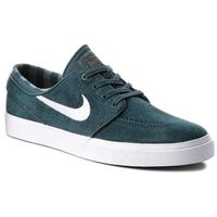 Nike Sneakersy - zoom stefan janoski 333824 311 deep jungle/white/clay green