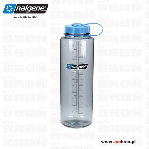 Nalgene Butelka 1,5l – silo wide mouth, otwór 63mm, szara 2178-0048